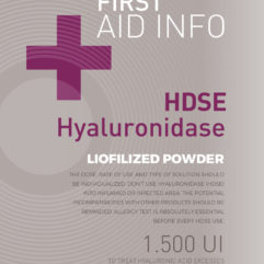 Hyaluronidase | New, Mesotherapy, Injectable dermal implants