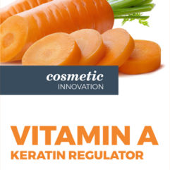 Vitamin A: keratin regulator | Vitamins | Effect | Solutions