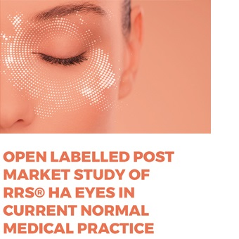 Open labelled post market study of RRS® HA EYES in current normal medical practice